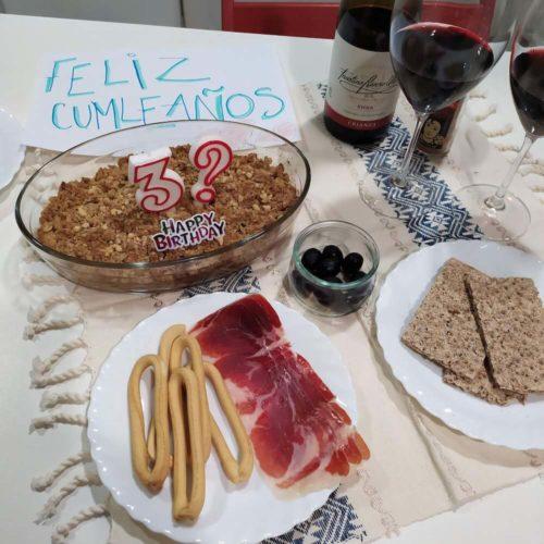 スペインで誕生日
