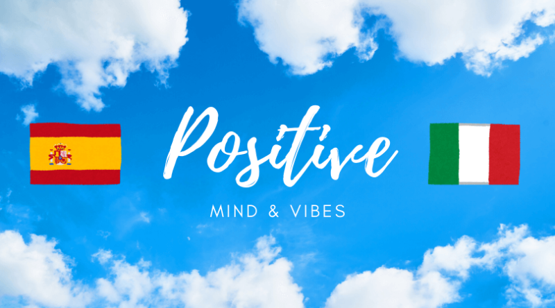 positive mind, positive vibes