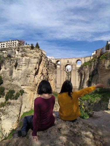 スペイン ロンダ ヌエボ橋