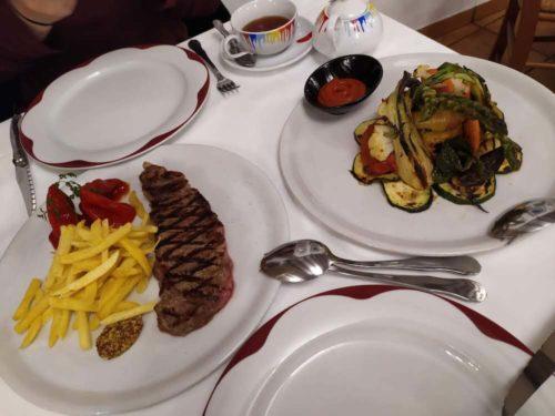 スペイン ロンダ 夕飯